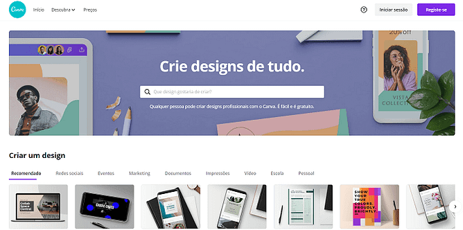 site do canva